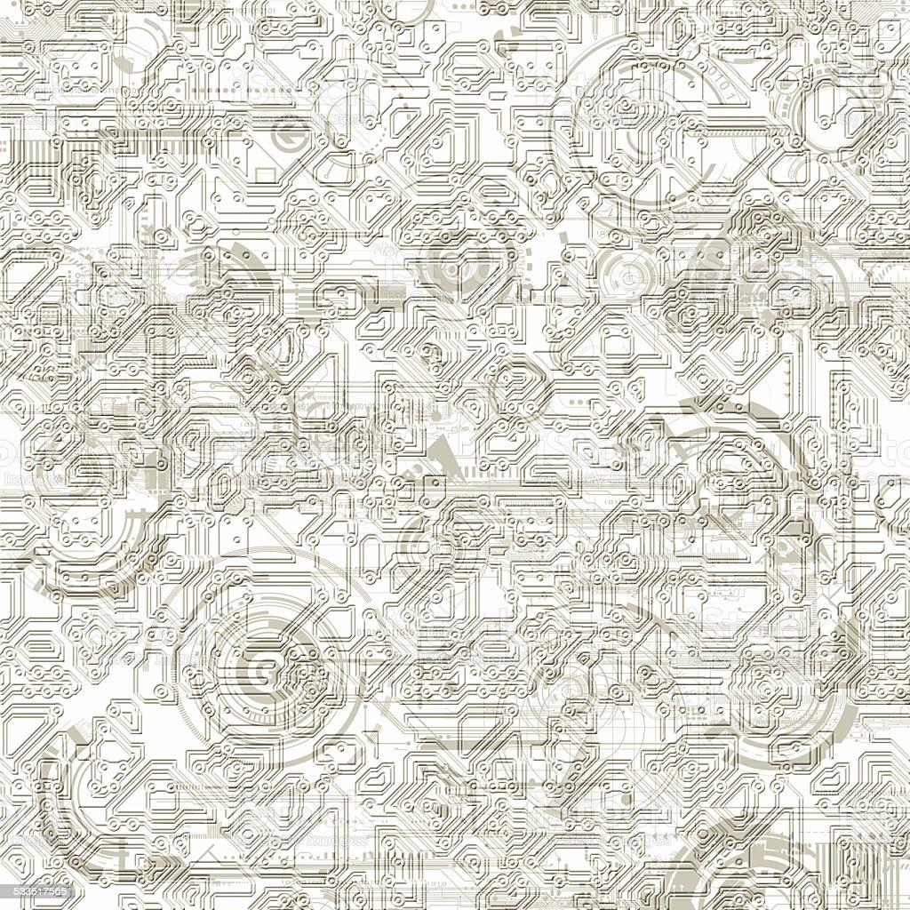 Elektronische Hintergrund Muster – Foto