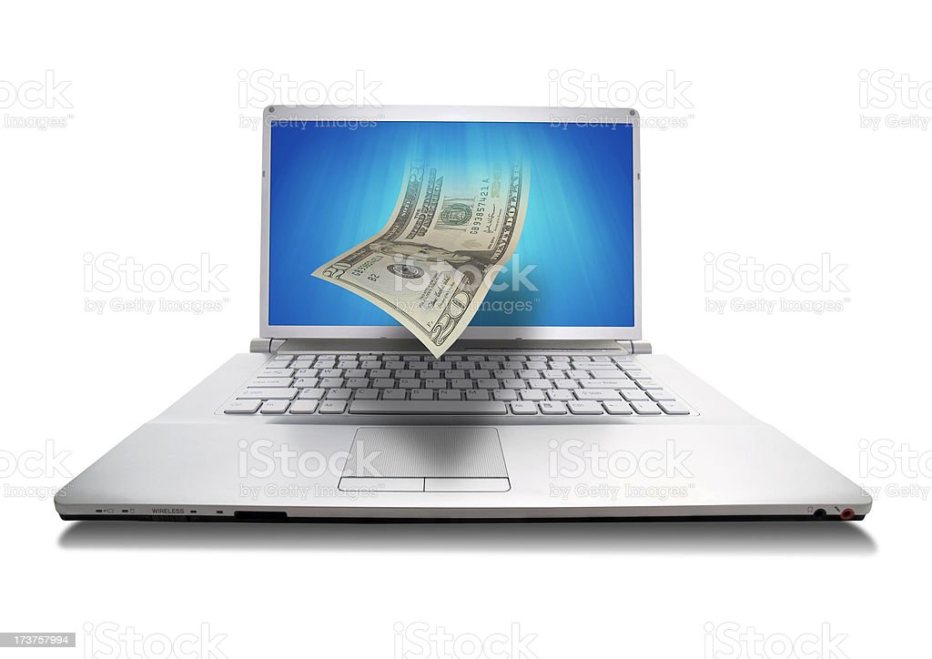 Electronic Banking royalty-free stock photo