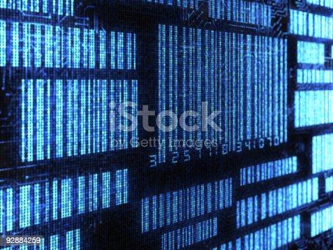 92884259 istock photo Electronic Barcode 92884259
