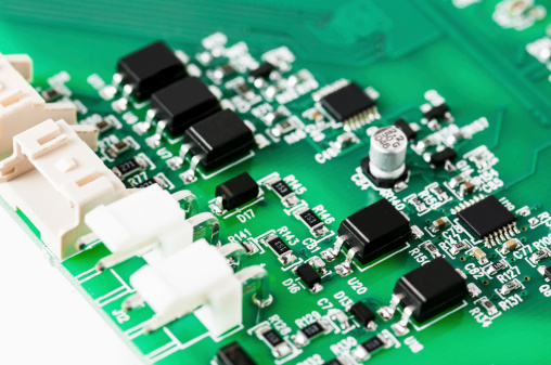 Electronic Board Detail Stock Photo - Download Image Now