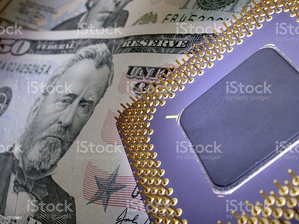 Electronic business royalty-free stock photo