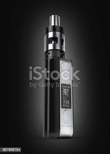 istock electronic cigarettе box mode on black gradient background 3d 657858754