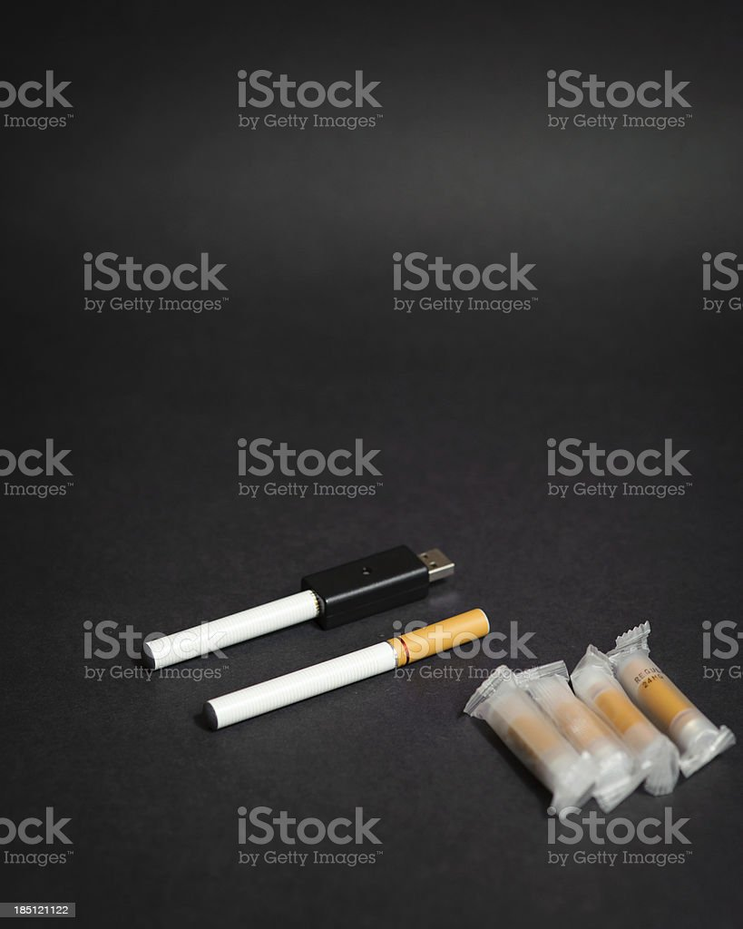 Electronic Cigarette - Healthy Smoking royalty-free stock photo