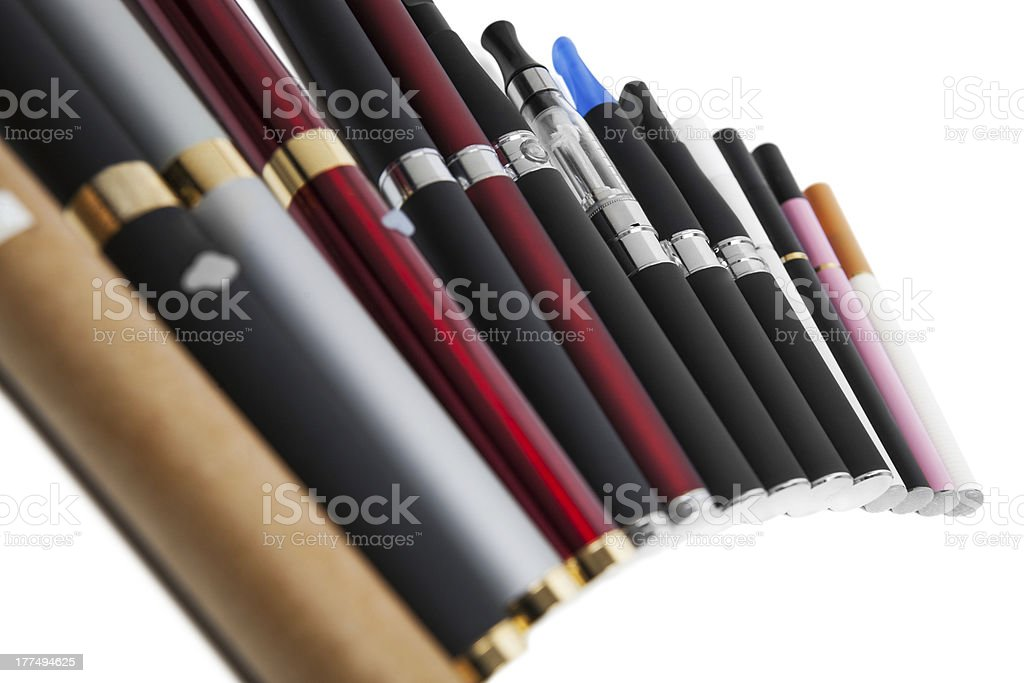 Electronic cigarette royalty-free stock photo