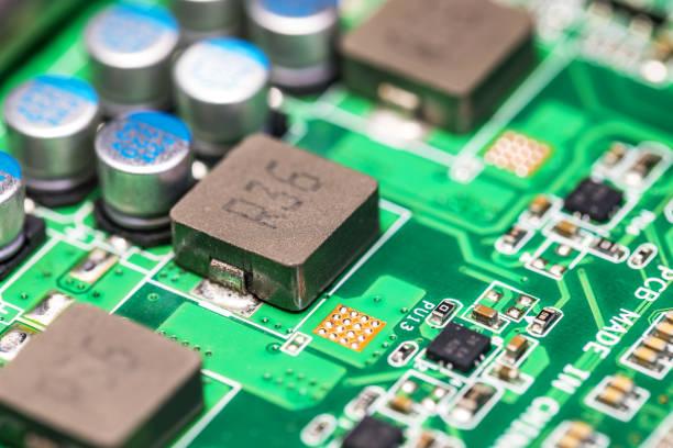electronic circuit board, pcb - mondlandefähre stock-fotos und bilder