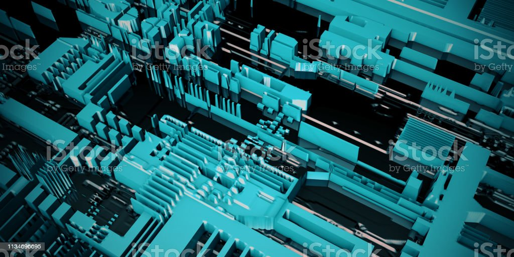 Electronic Circuit Board Royalty Free Stock Photography Image