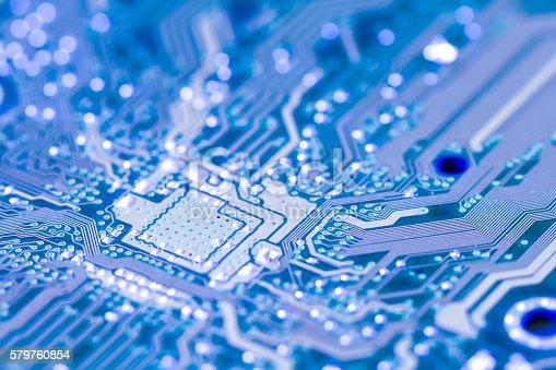 istock Electronic circuit board 579760854