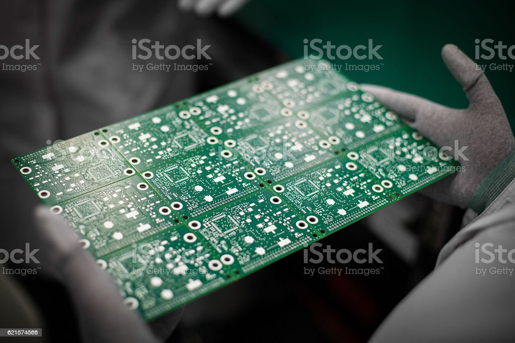 circuit électronique repasser  photo libre de droits