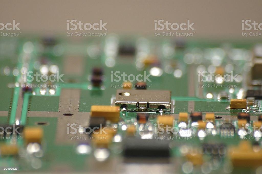 Elektronische circuit board Lizenzfreies stock-foto