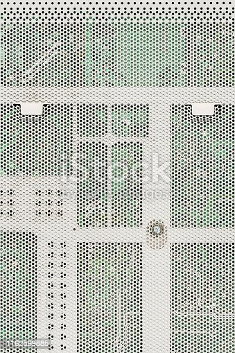 istock Electronic Circuit Board Protective Perforated Metal Cover 1162599885