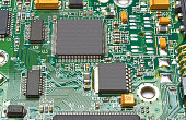 Electronic components on the chip