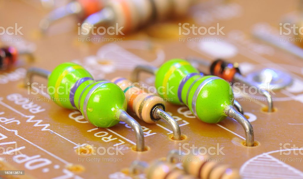 Electronic Components royalty-free stock photo