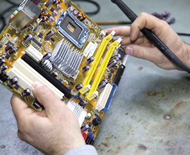 componenti elettronici - gigifoto foto e immagini stock