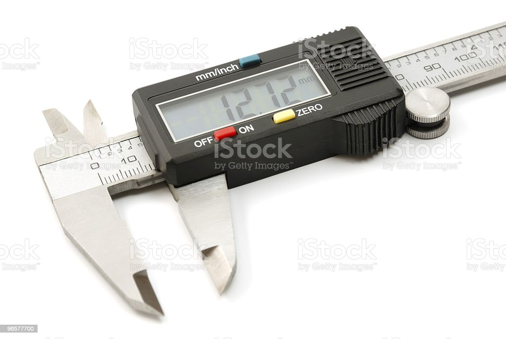 Electronic digital caliper - Royalty-free Afbeelding Stockfoto