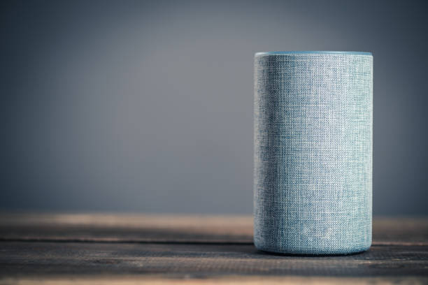 Electronic equipment smart speaker Electronic equipment smart speaker smart speaker stock pictures, royalty-free photos & images