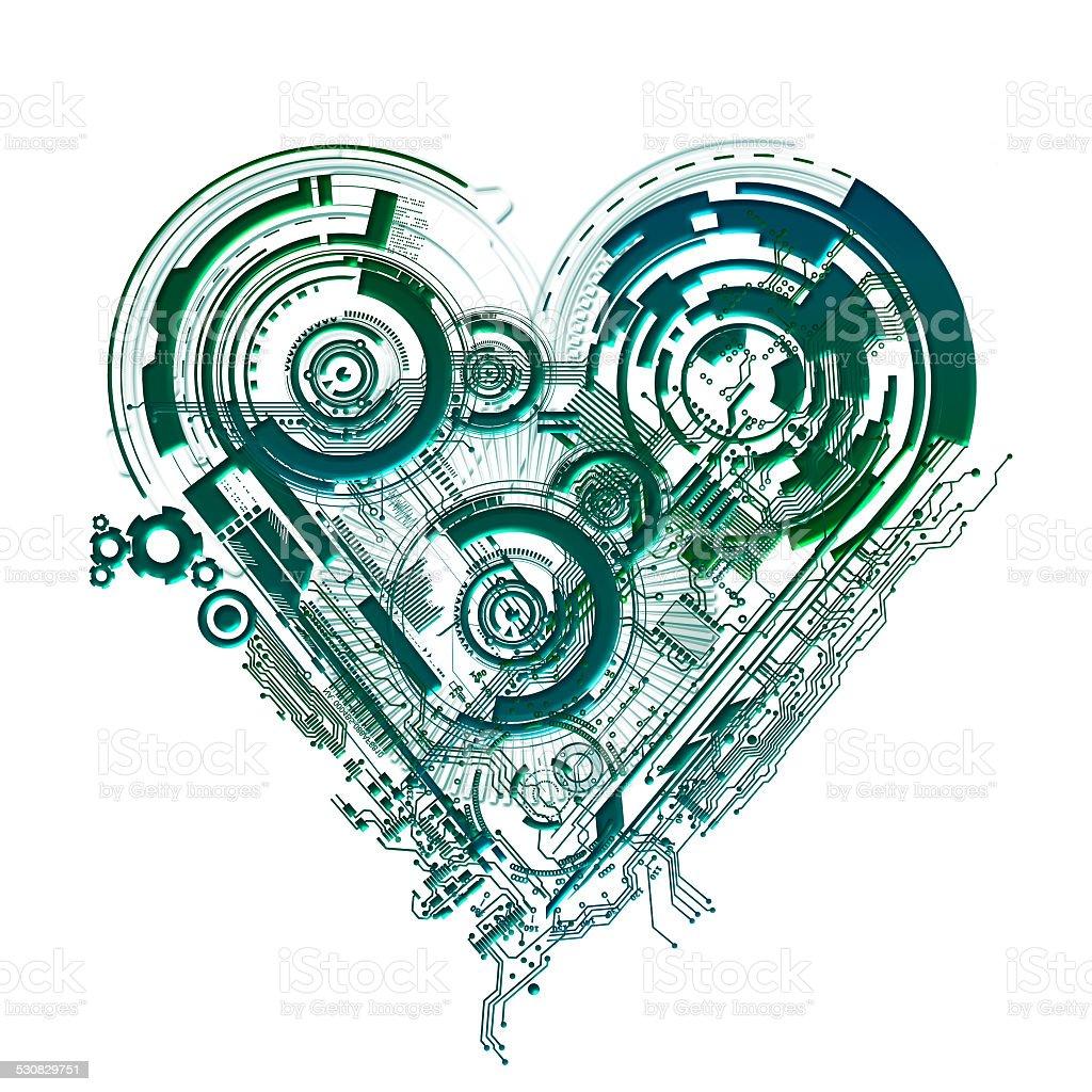 Elektronische Herz – Foto