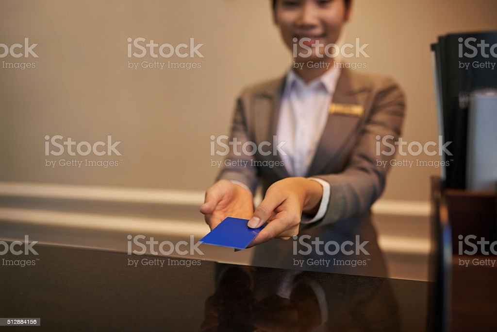 Electronic key stock photo