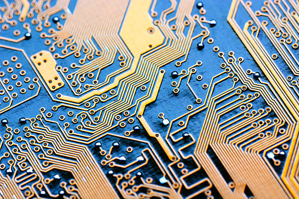 Elektronische einem Labyrinth gestaltet ist – Foto