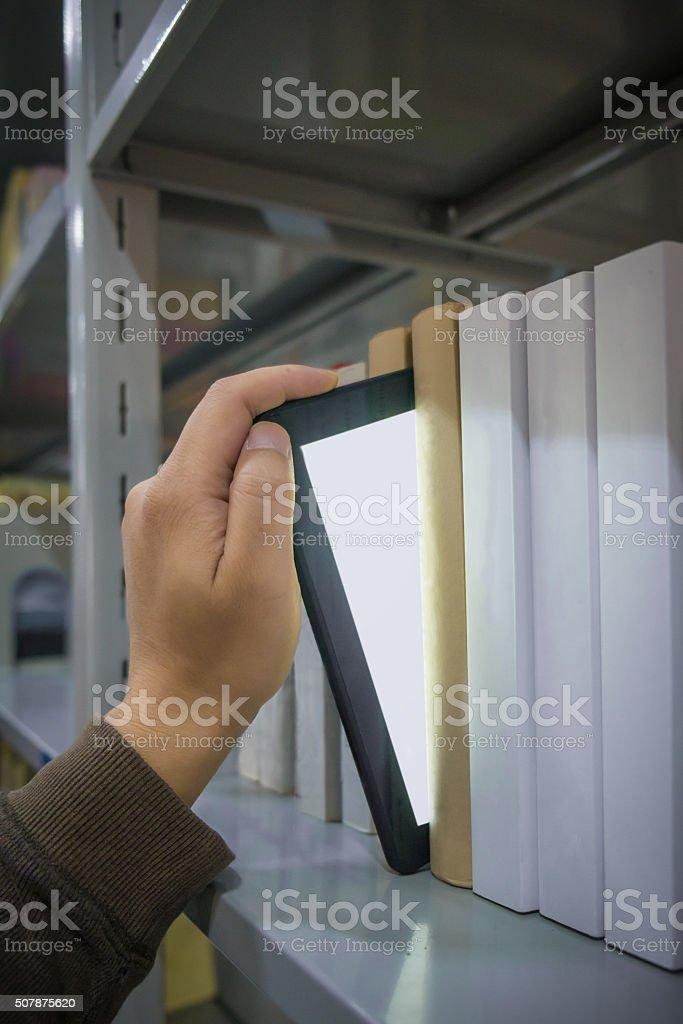 Biblioteca Eletrônica - foto de acervo