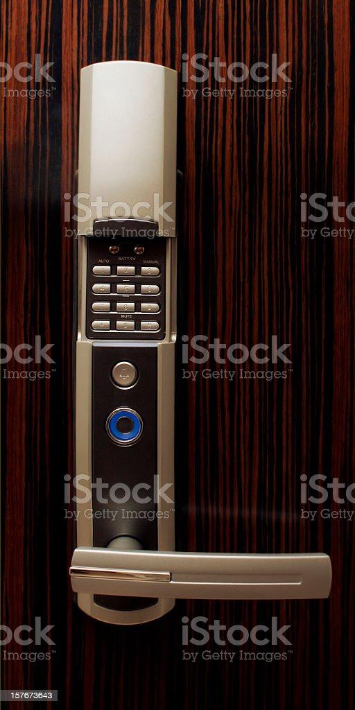 Electronic Lock royalty-free stock photo