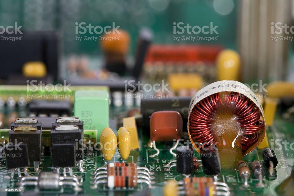 Electronic Macro royalty-free stock photo