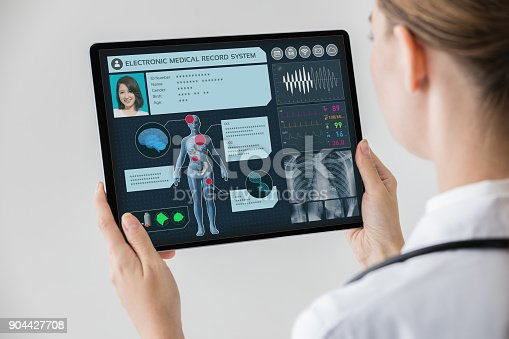 istock Electronic medical record concept. 904427708
