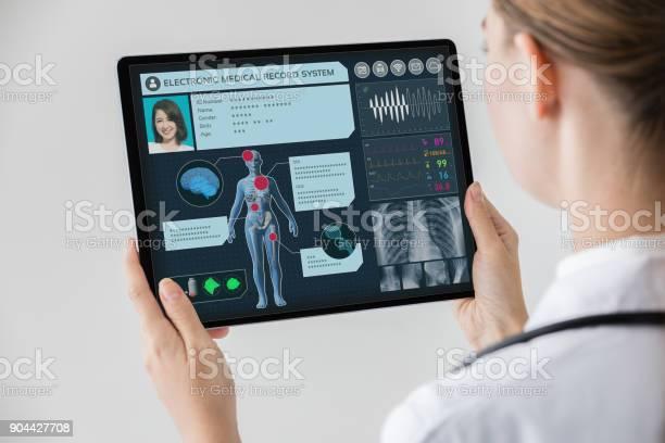 Elektronische Medizinische Aufzeichnung Konzept Stockfoto und mehr Bilder von Gesundheitswesen und Medizin