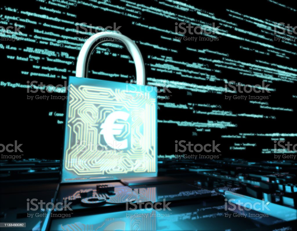 3D composite illustrations, representing financial security for...