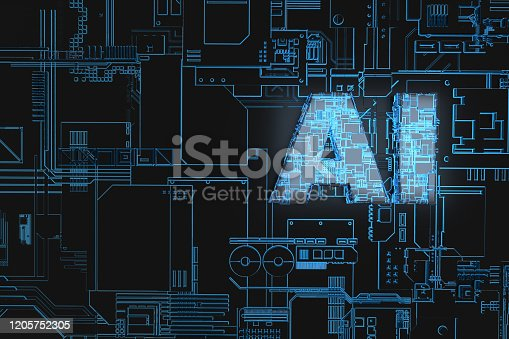 1145585734 istock photo Electronic network technology, data transmission and storage,AI circuit boards 1205752305