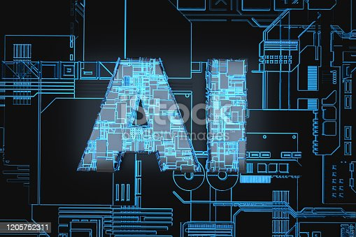 1145585734 istock photo Electronic network technology, data transmission and storage,AI circuit boards 1205752311
