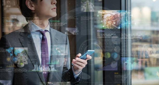 electronic newspaper concept. ebook. - sztuczny zdjęcia i obrazy z banku zdjęć