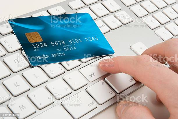 Electronic Payment Concept Stock Photo - Download Image Now