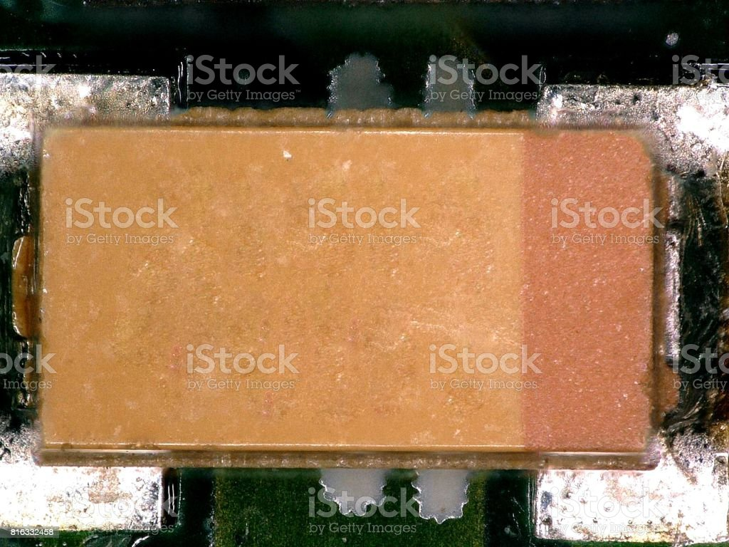 Electronic Printed Circuit Board With Many Electrical Components Stock Photo Royalty Free