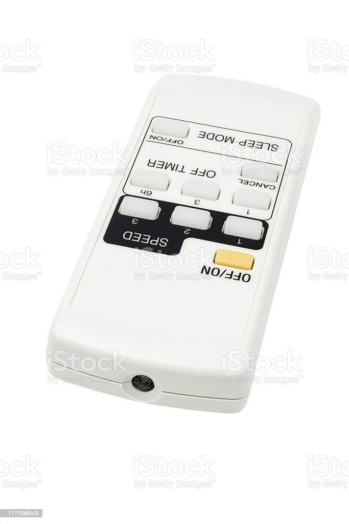 Electronic Remote Controller With Sleep and Timer Functions royalty-free stock photo