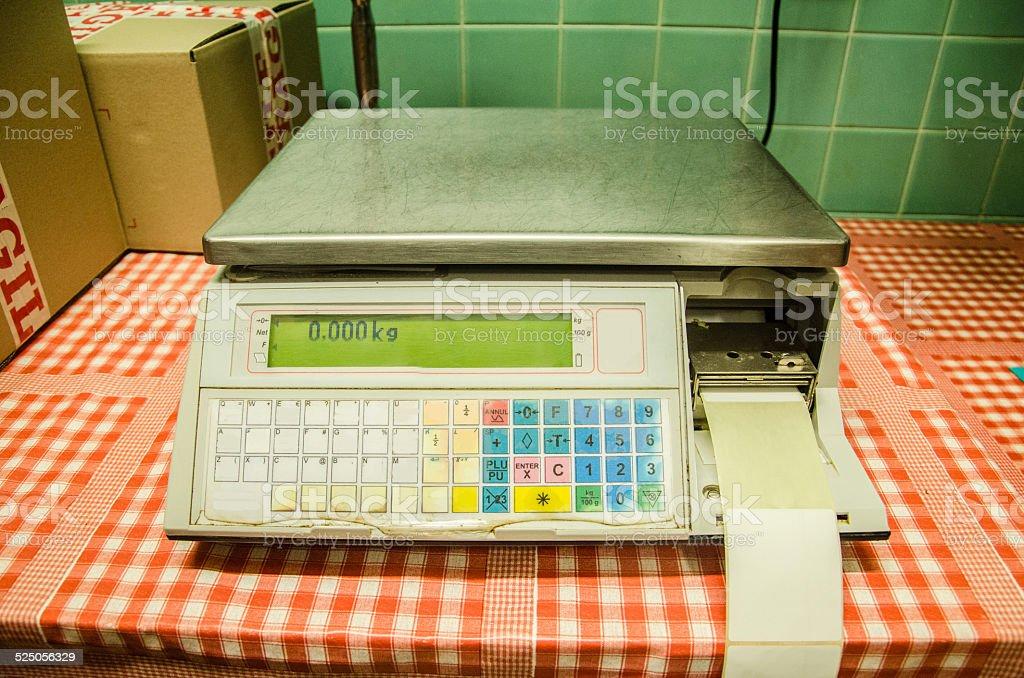 Electrónica de escala - foto de stock