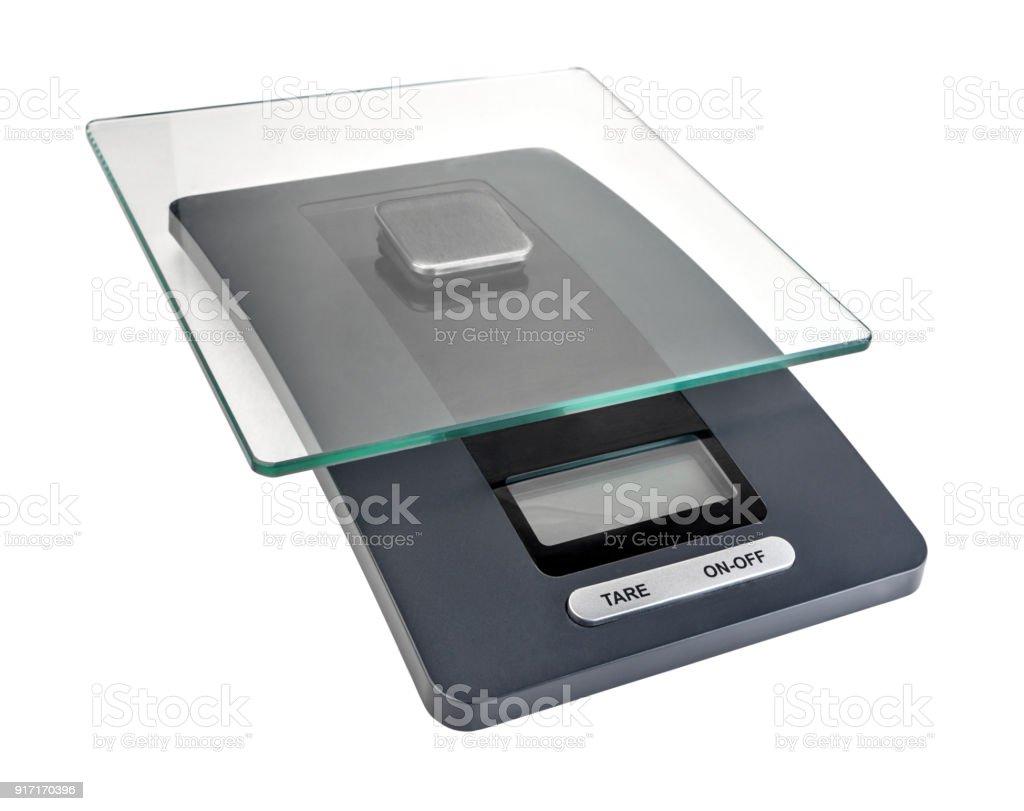 Balanza electrónica. - foto de stock