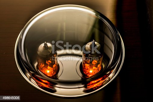 istock Electronic tubes in Hifi Amplifier 498645005