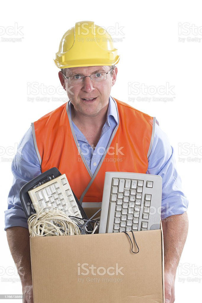 Electronic Waste Recycling royalty-free stock photo