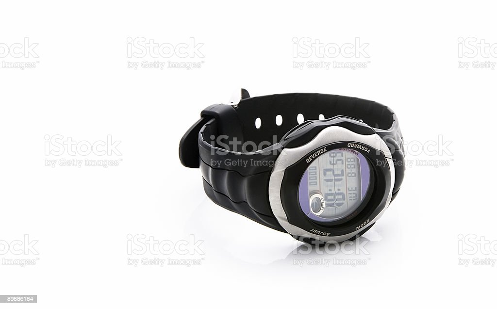 electronic watch royalty-free stock photo