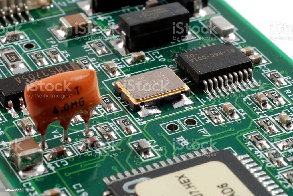 Electronics boards royalty-free stock photo
