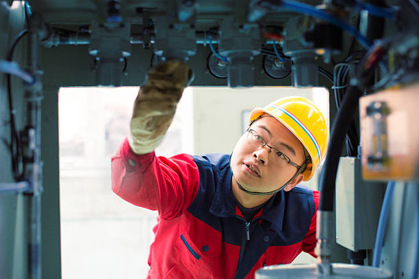 electronics engineer - capacitor stock photos and pictures