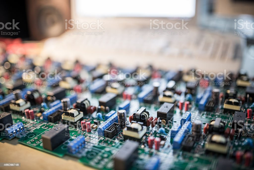 Electronics Manufacturing stock photo