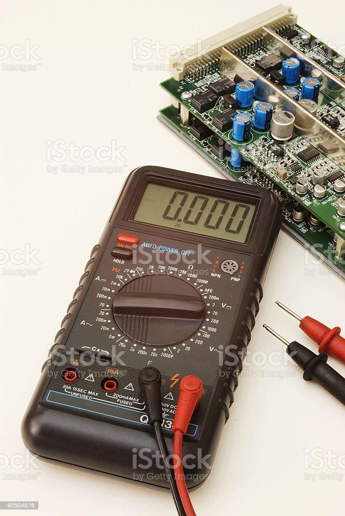 Electronics - Multimeter 2 royalty-free stock photo
