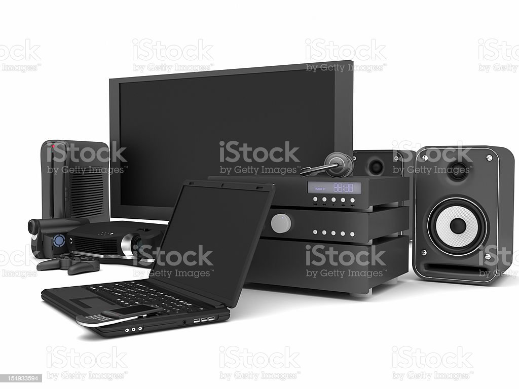 Electronics stock photo