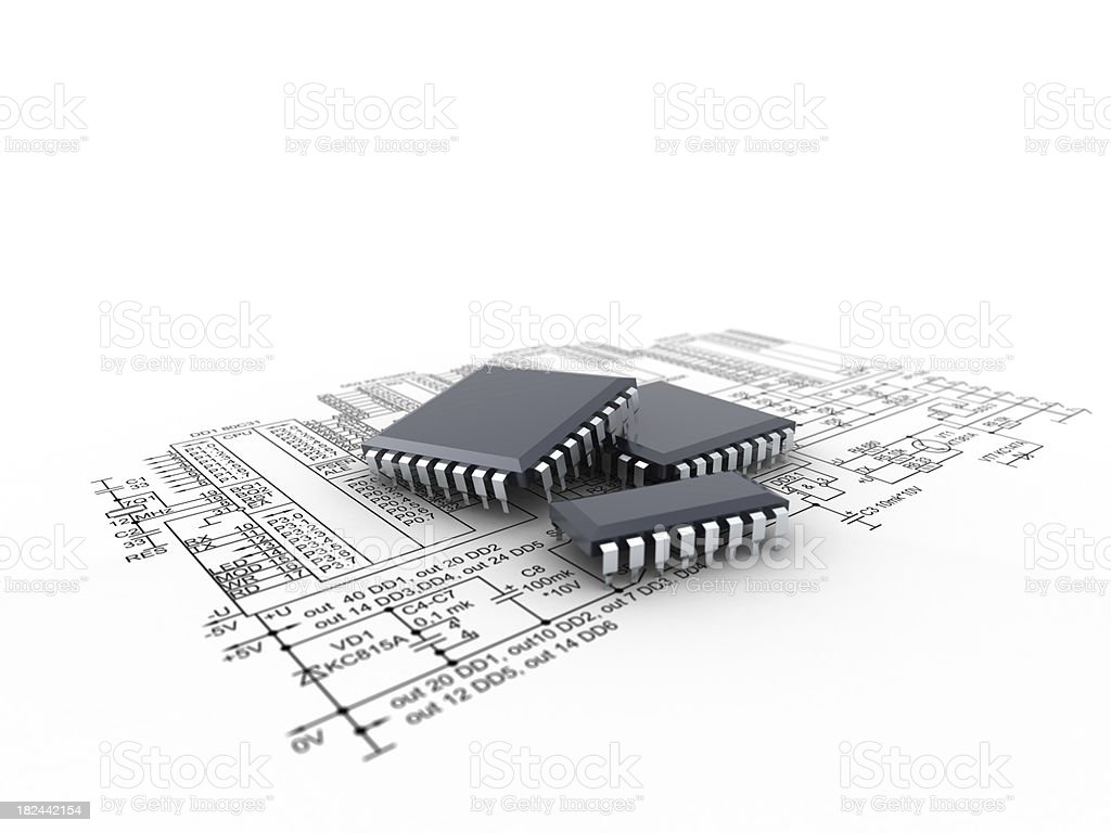electronics royalty-free stock photo