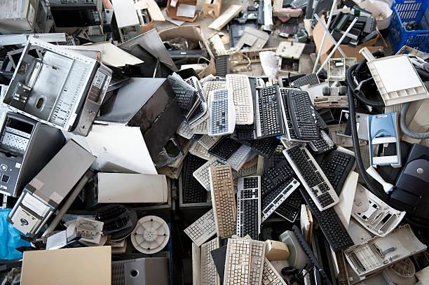 elektronik-recycling - freizeitelektronik stock-fotos und bilder