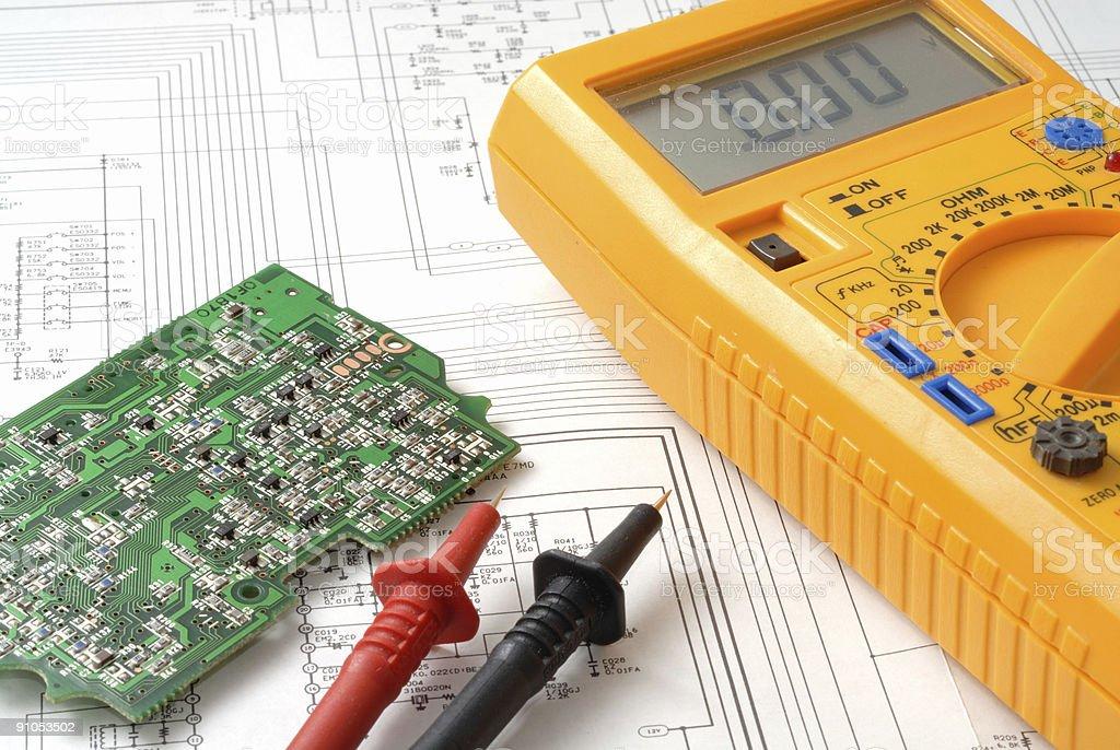 Electronics reparation royalty-free stock photo