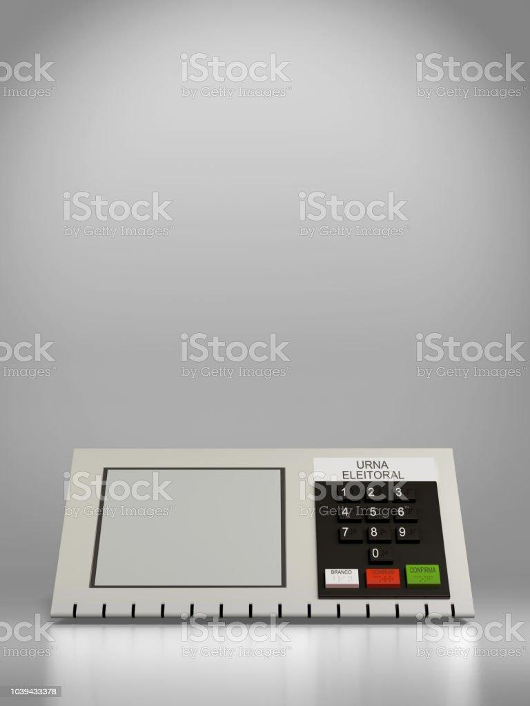 Urna eletrônica - foto de acervo