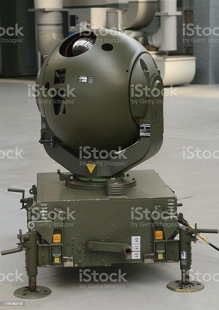Electro-Optical Missile Tracker stock photo