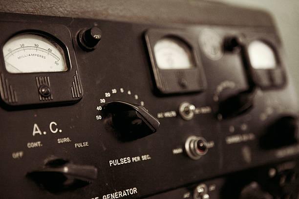 Electro-Shock Machine stock photo